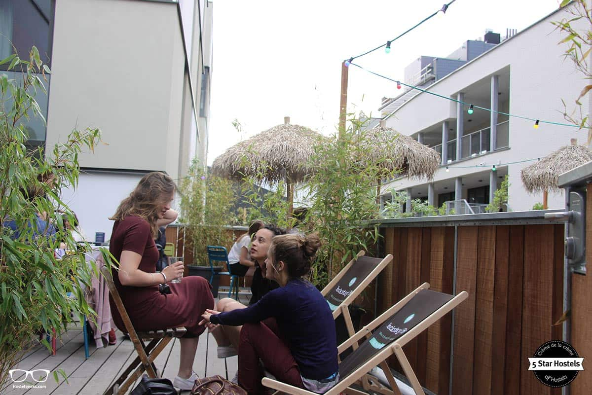 The bar comes as well with a cosy terrace, perfect for the summer