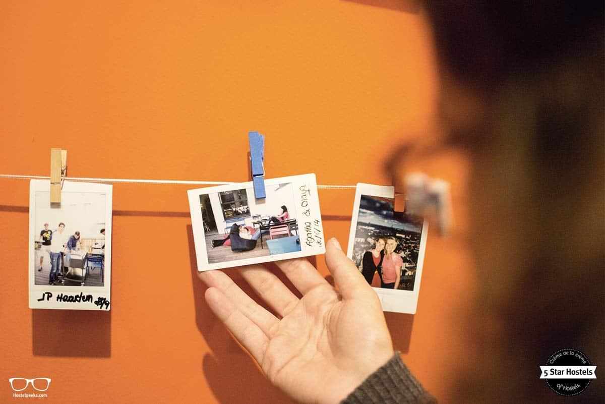 Polaroid time at Backstay Hostel