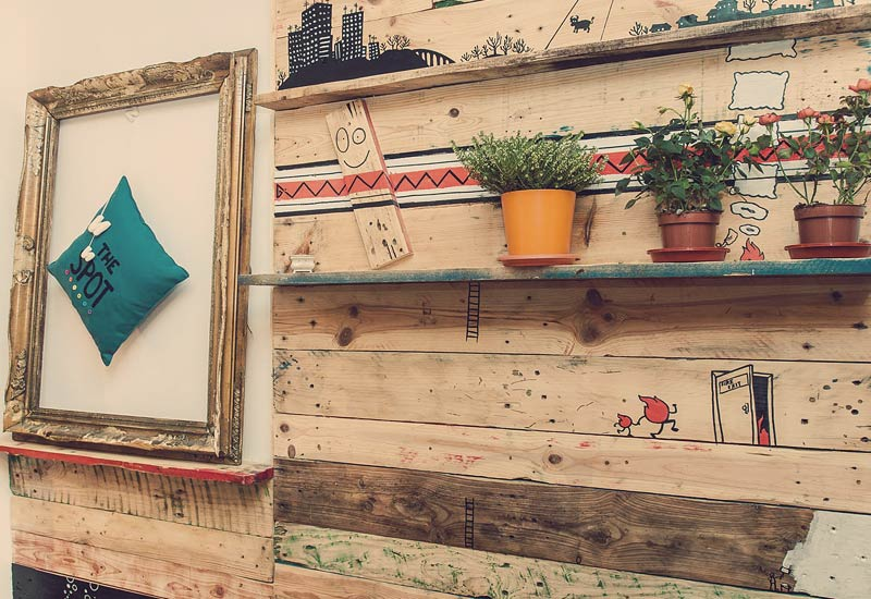 The Handmade and Upcycled Design is the last details to the homely ambient at Cosy Spot Hostel