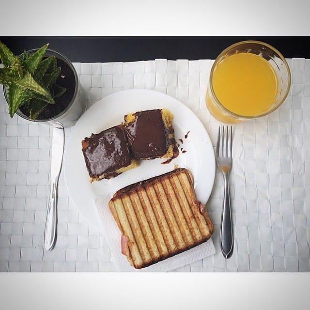 World class breakfast at WE Design Hostel Sao Paulo