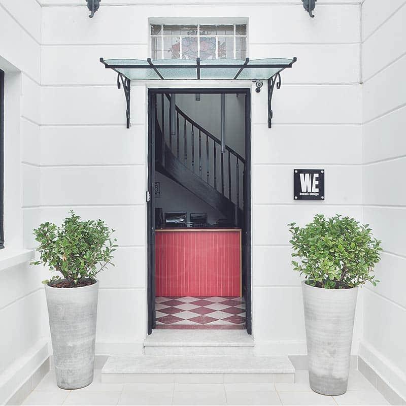 Enter the design & fun zone! We Design Hostel in Sao Paulo