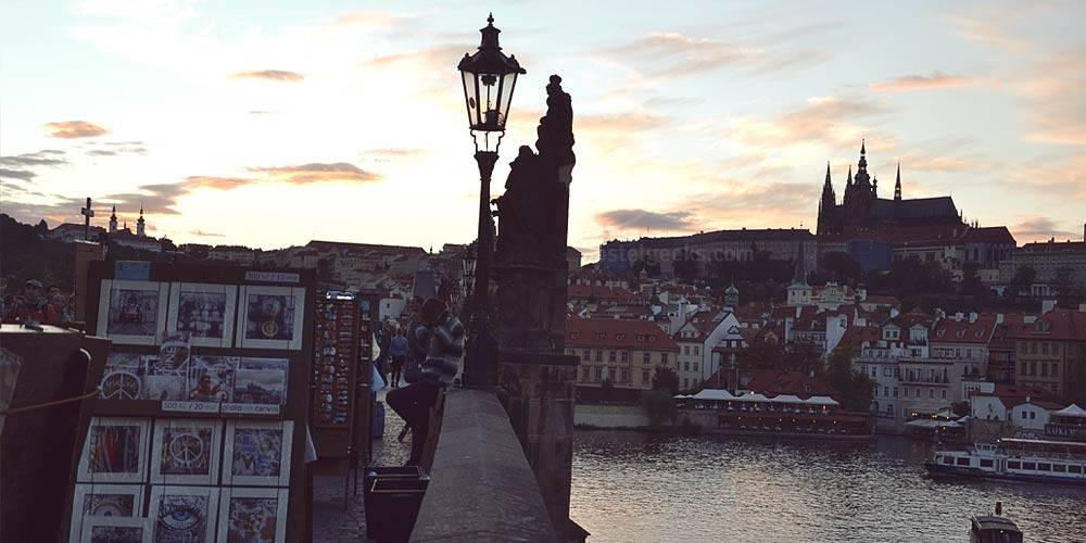Charles Bridge in Prague - a beautiful historic bridge in the heart of Prague