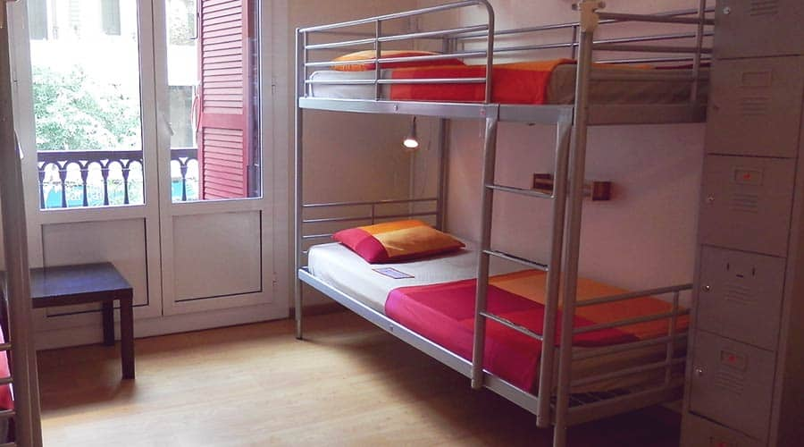 The cheapest hostel type out there