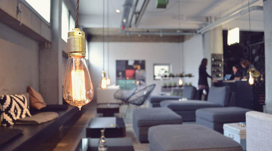 The Lounge at Wallyard Concept Hostel in Berlin