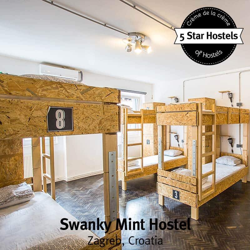 Fancy a Dorm? The dorms at Swanky Hostel in Zagreb