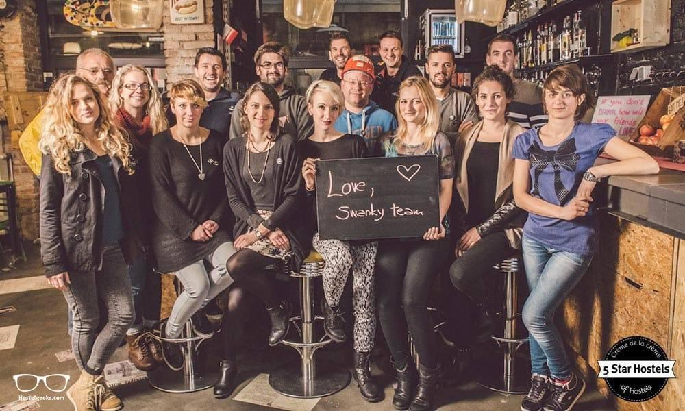 Lots of love by the Swanky Mint Hostel Team