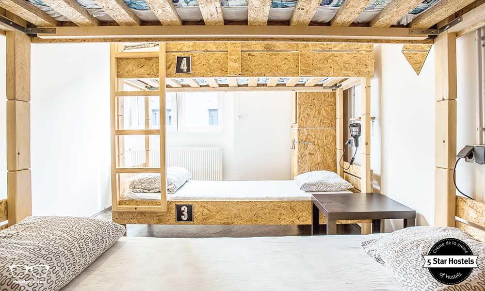 Ein Schlafsaal im Swanky Mint Hostel