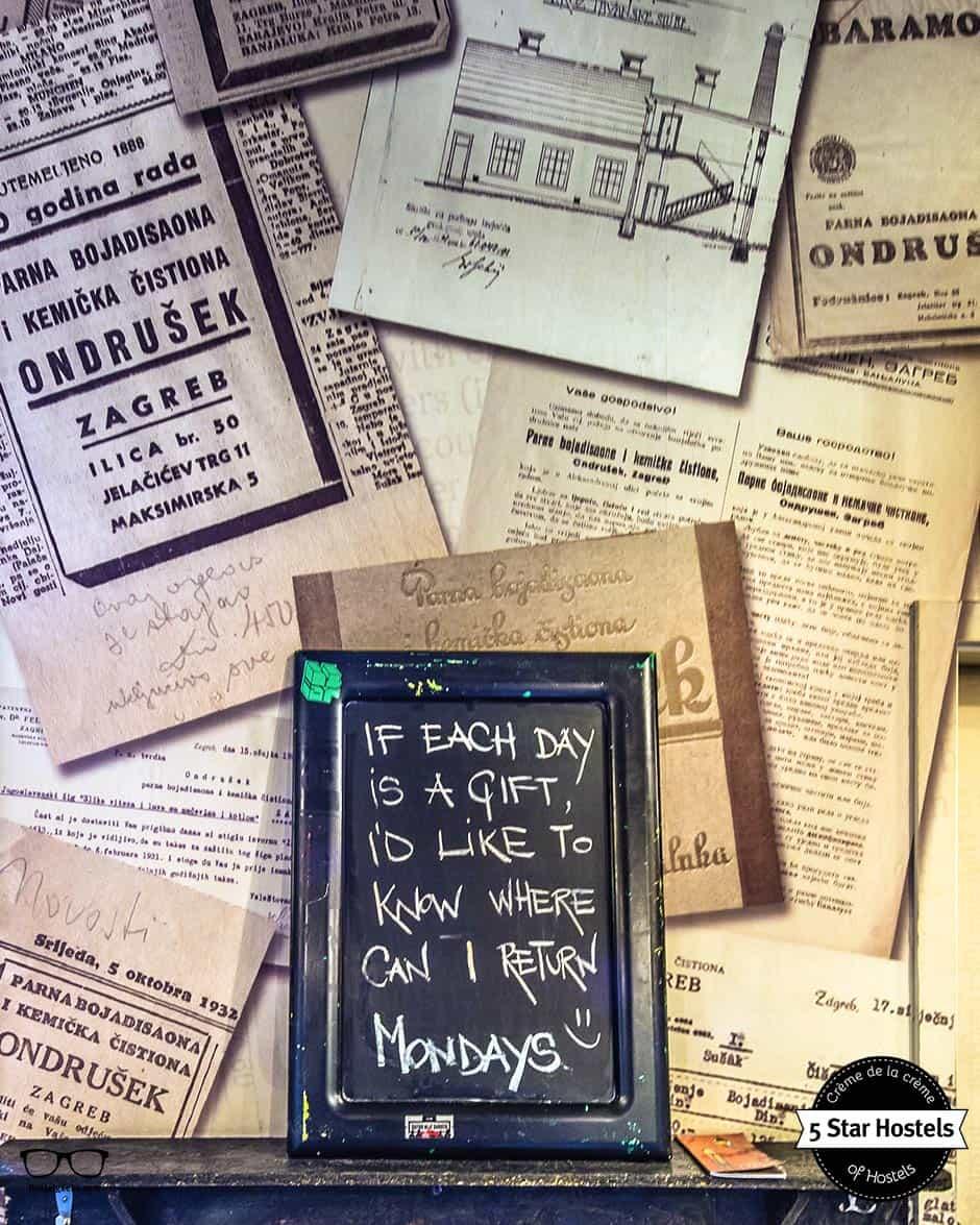 Die Weisheit des Swanky Mint Hostels