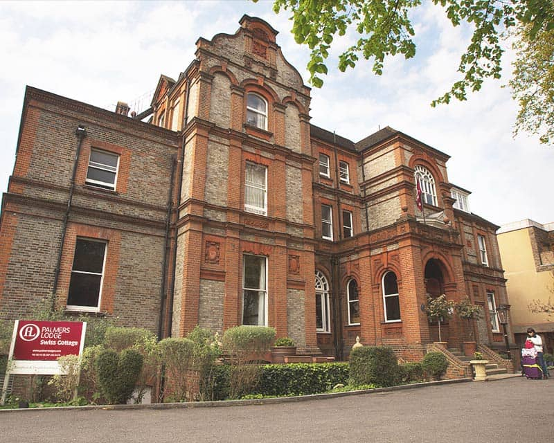 Restored Victorian Grade II Building of Palmers Lodge Swiss Cottage