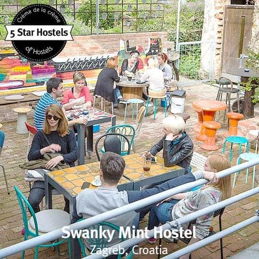 The lounge terrace at Swanky Mint. Fancy a drink?