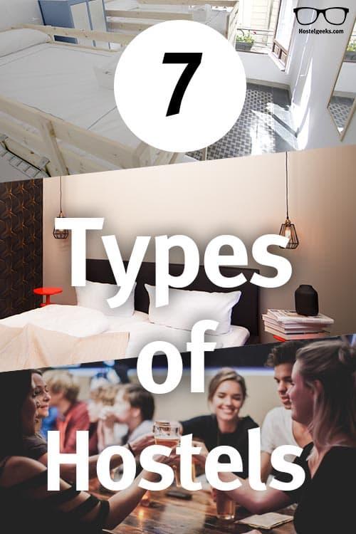 Types of Hostels