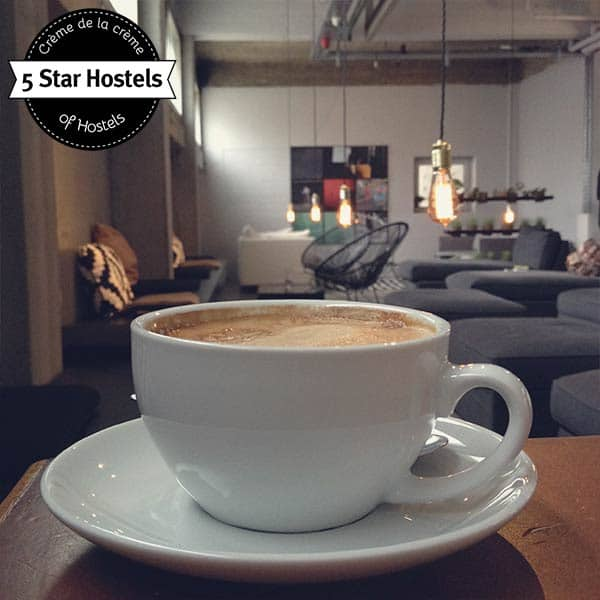 Berlins best Coffee? The breakfast at Wallyard Concept Hostel