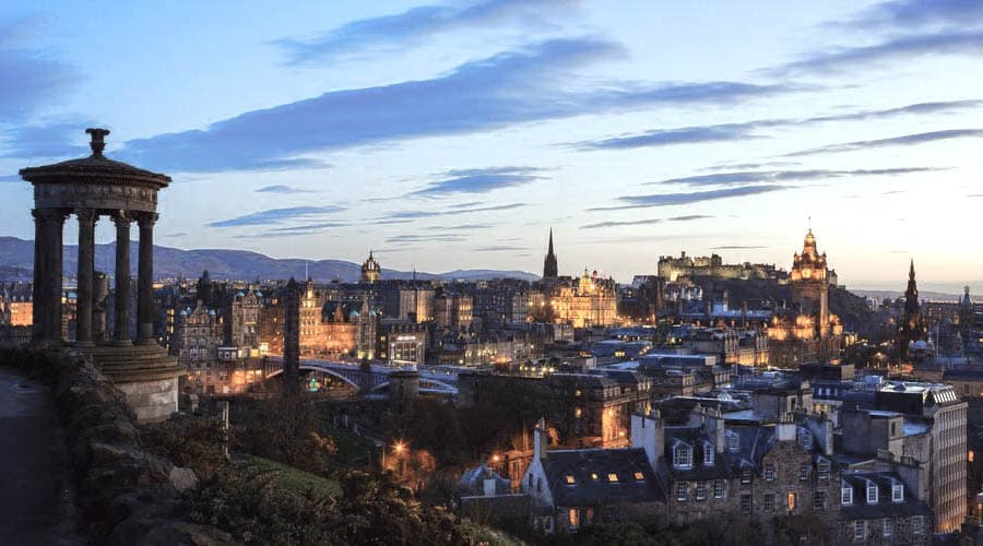 Edinburgh as a winter destination? Certainly!