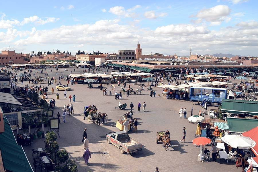 Marrakesh is a great winter destination!