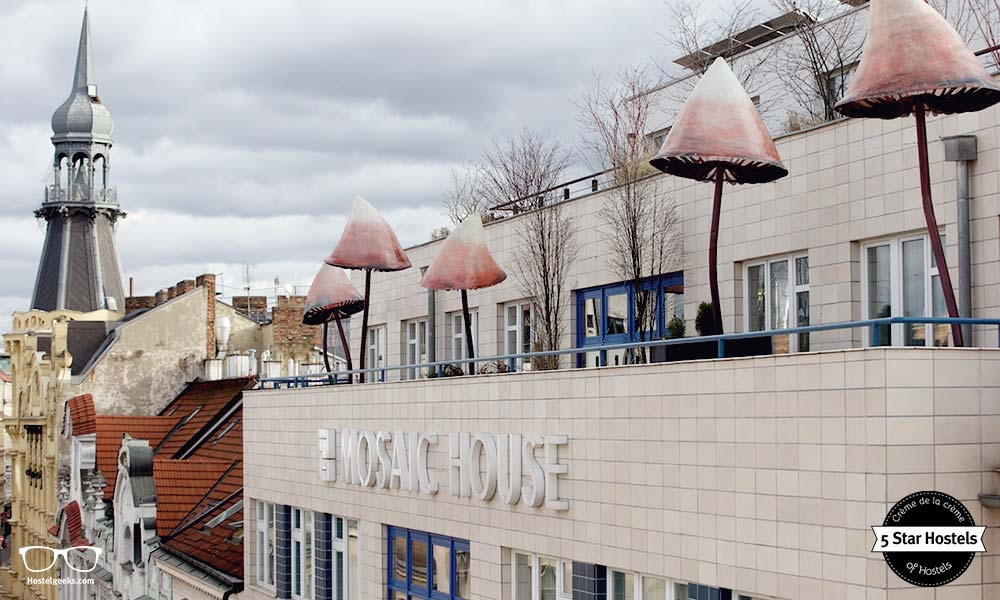 Mosaic House Prague - Eco Design Hostel with 5 Star Quality