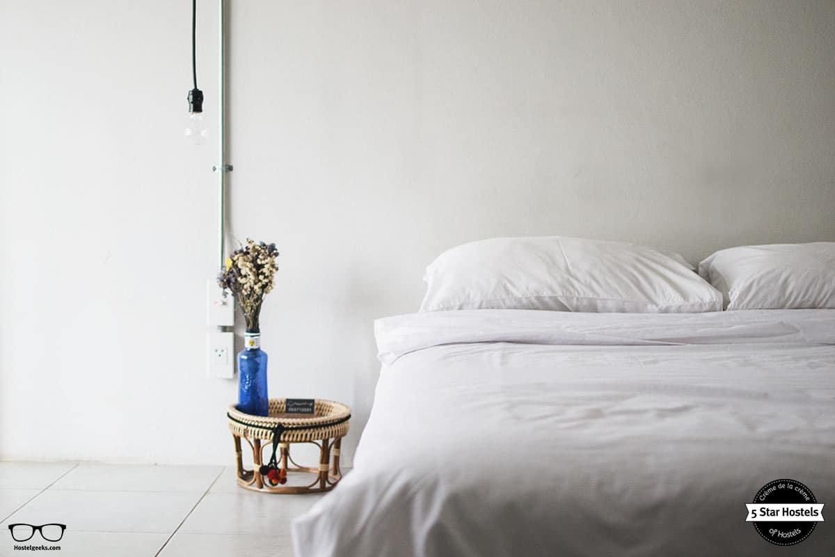 Bedroom details at Happynest