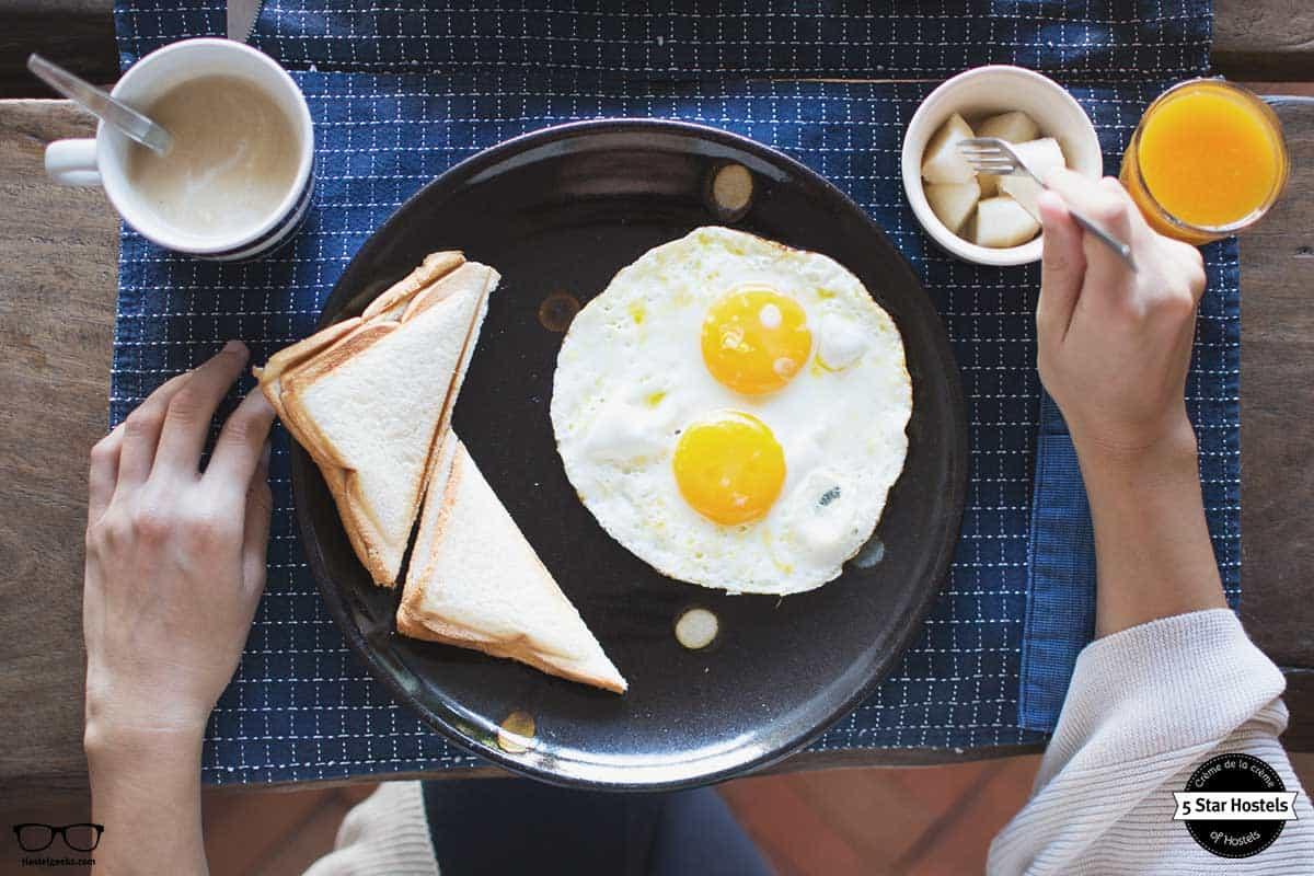 Breakfast at Happynest Chiang Rai