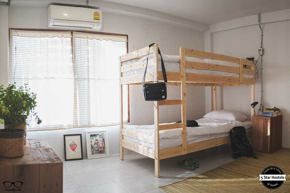 Dorm at Happynest Hostel Chiang Rai