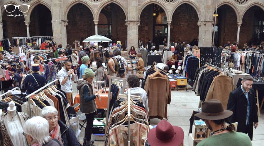 Things to do in Barcelona - a Flea Market has to be on the list