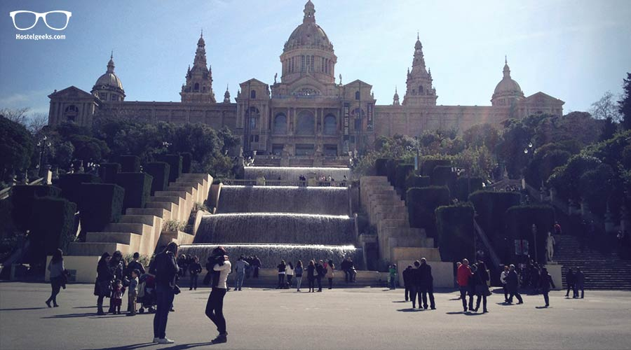 Not too bad, right? Museu Nacional Art Contemporani in Barcelona