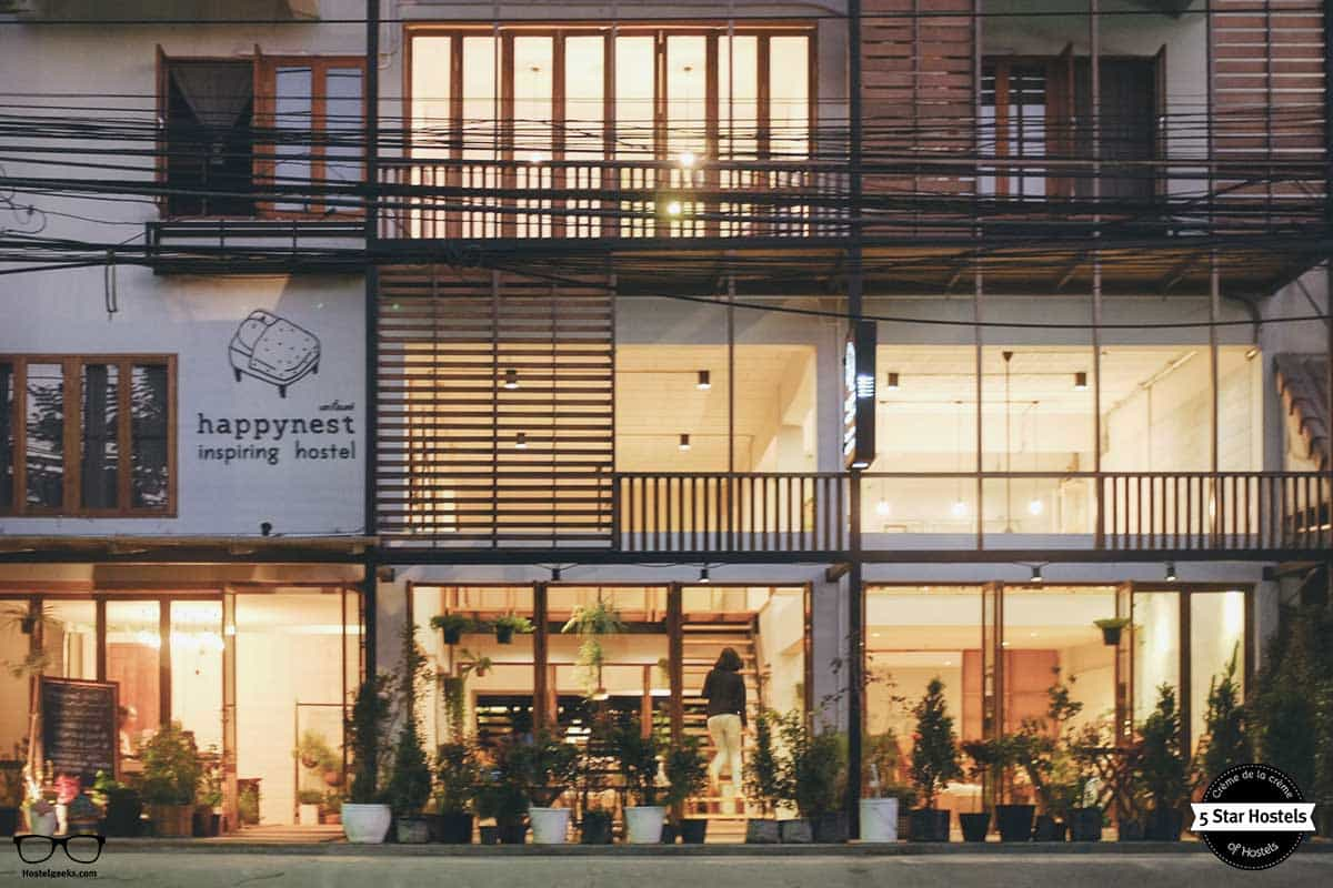 Happynest hostel 5 Star Hostel in Chiang Rai