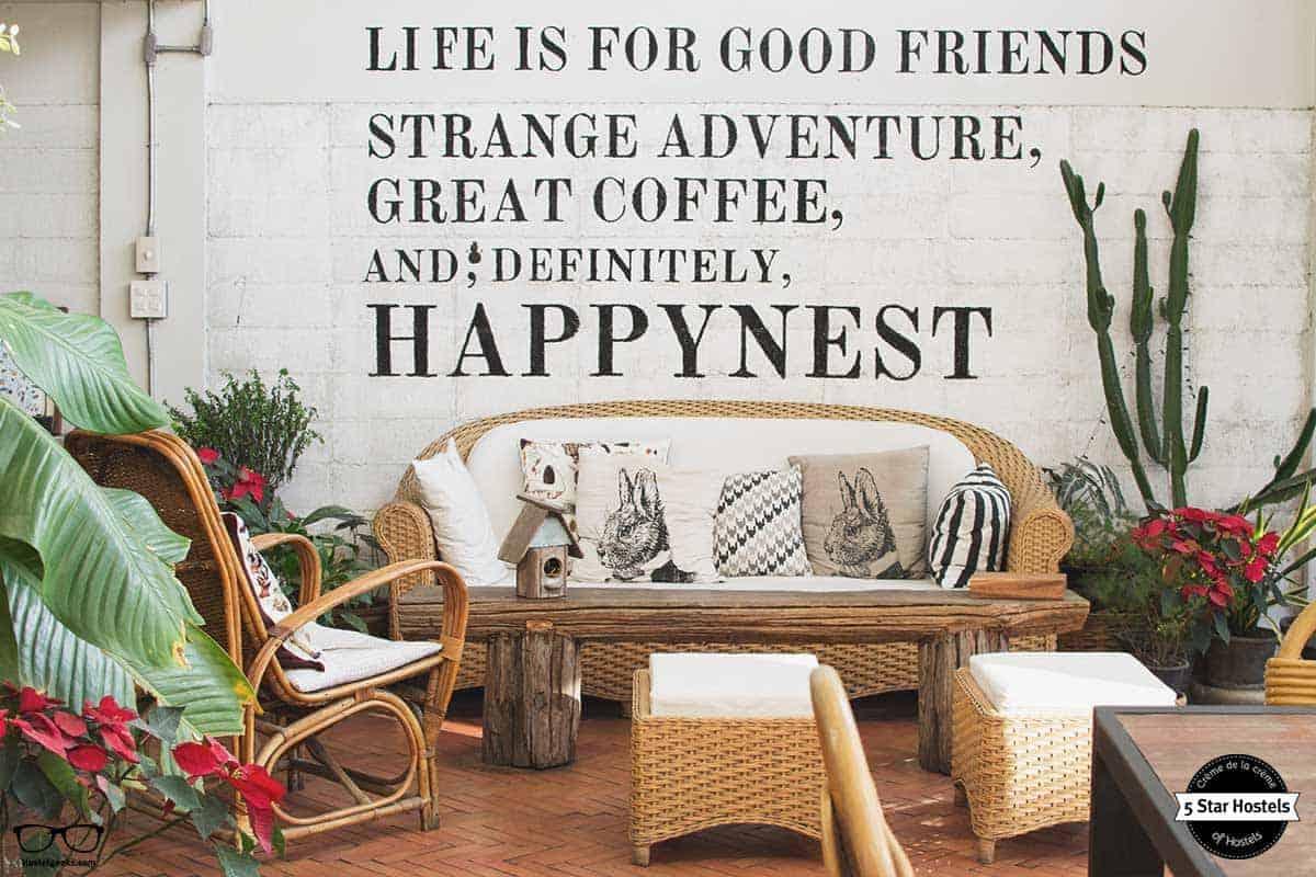 Happynest Hostel Chiang Rai Life