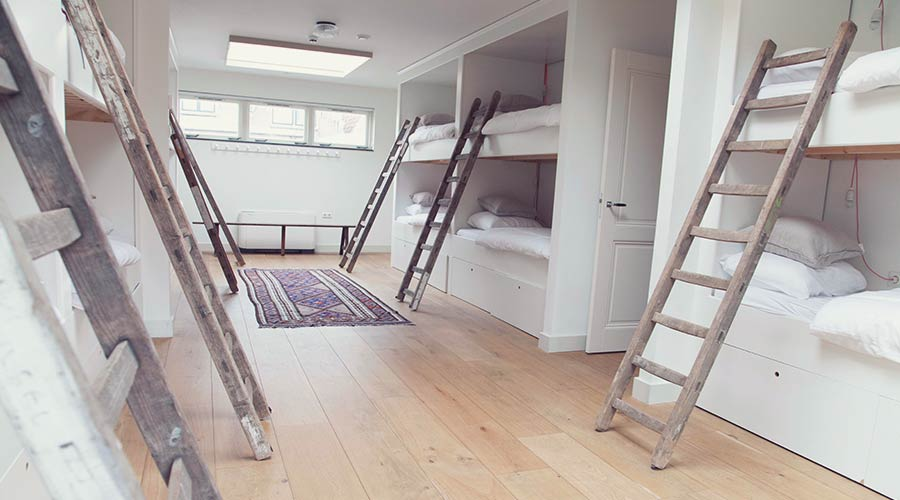 Staying on budget? Stay in style! This is one dorm at Hello I'm Local Hostel, Haarlem