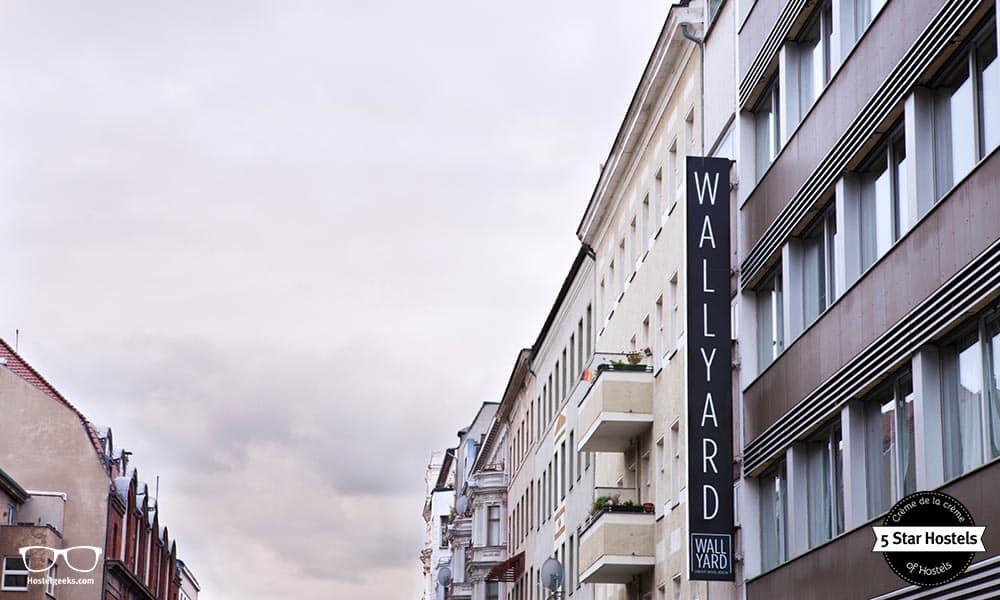The facade of Wallyard Concept Hostel