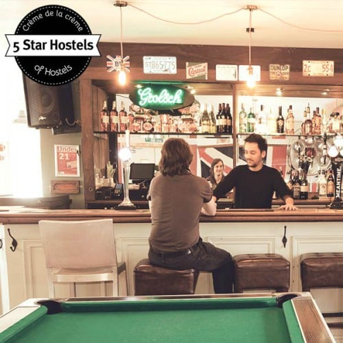 Inhouse Bar and Pool Billiard! The social area at Palmers Lodge Hillspring
