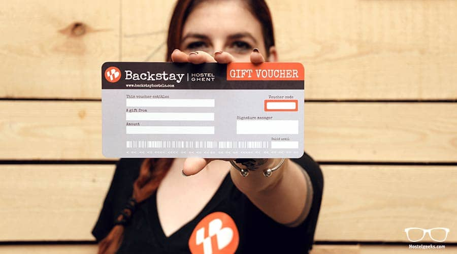 Not a membership card, but a voucher. At backstay Hostel in ghent you can buy those vouchers as a present for your travel friends.