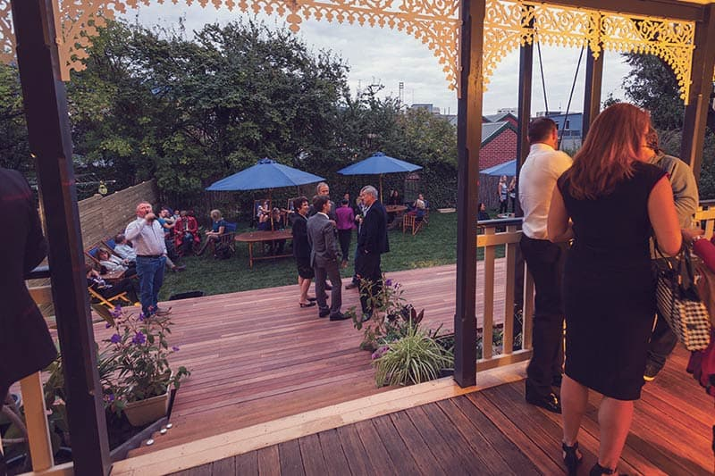 Opening Party at Montacute Boutique Bunkhouse!