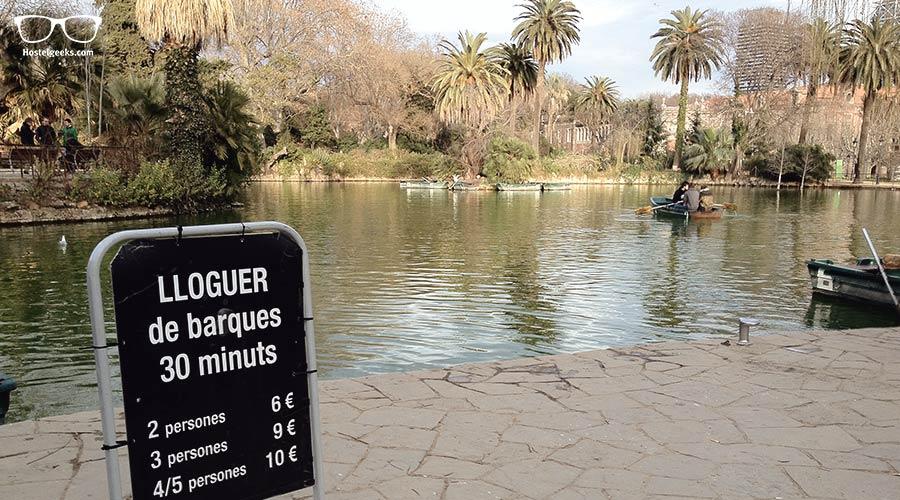 Relax at Parc de la ciutadella