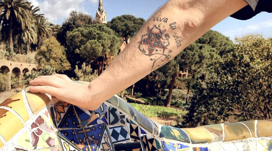 """Park Güell"" - only partly free"