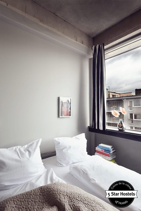 A Double Room with natural light at Wallyard Concept Hostel