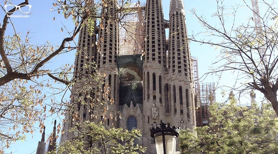 Sagrada Familia in Barcelona - Gaudi's Masterpiece