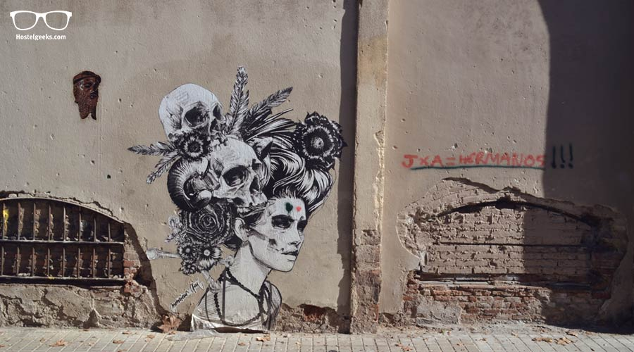 Seek out street art in Barcelona