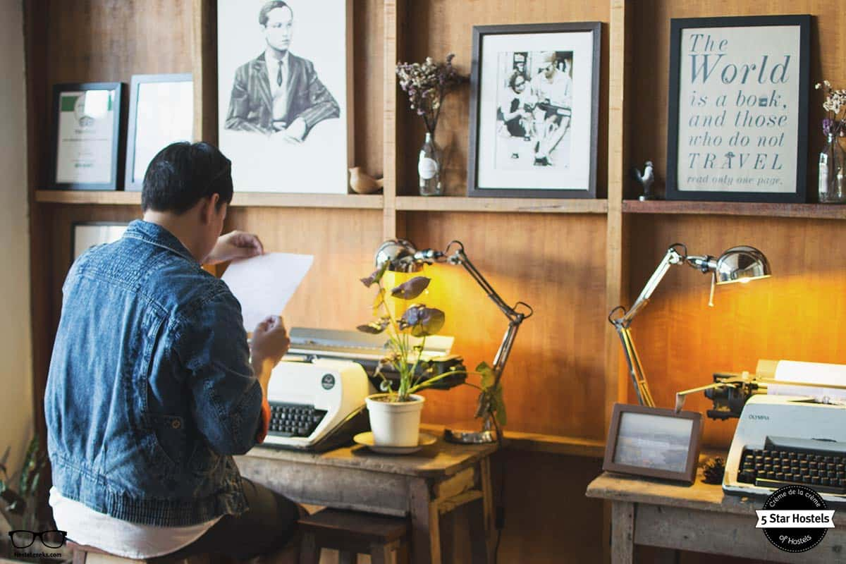 Write a love note at Happynest Chiang Rai