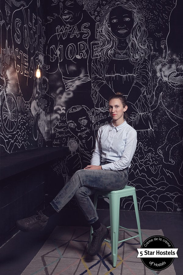 Wallyard Concept Hostel is also a great location for model shootings