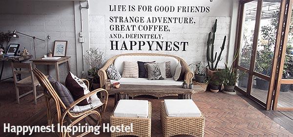 Happynest Inspiring Hostel Chiang Rai