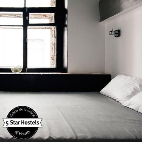 Private bedroom at Sputnik Hostel Moscow