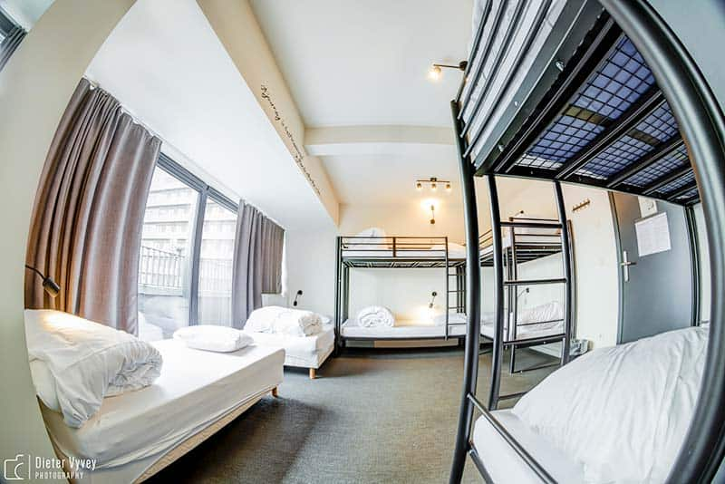 Pick your right room or dorm at CUBE Hostle in Leuven