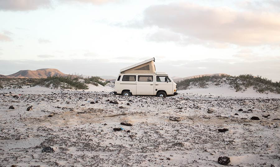 Hitchhiking in Fuerteventura, Canary Islands