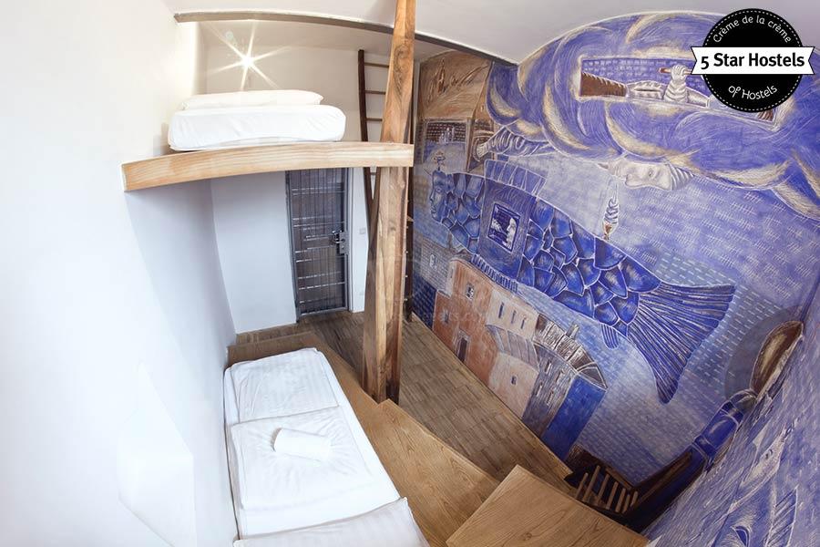 Hostel Design Ideas? Hostel Celica is loaded with inspirational input!