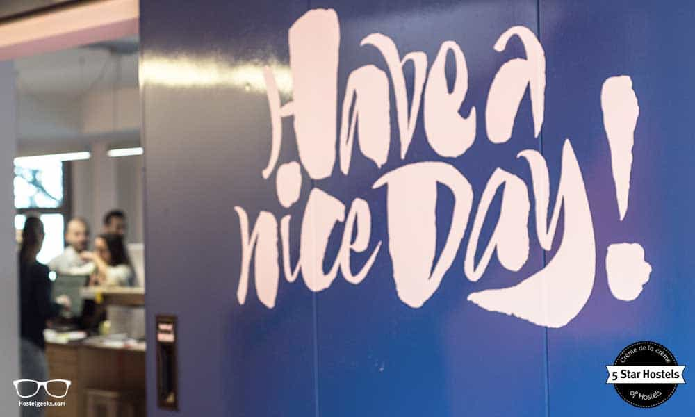 Have a nice day, have a nice stay - we bologna Hostel, the 5 Star Hostel in Bologna