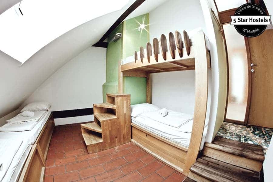 Artistic Private Rooms in Style at Hostel Celica