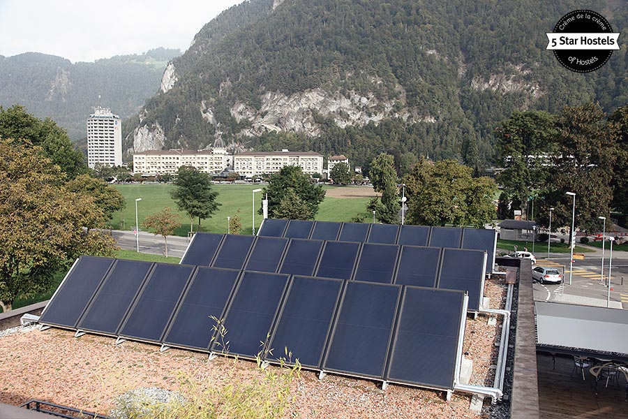 Green energy at Backpackers Villa Sonnenhof