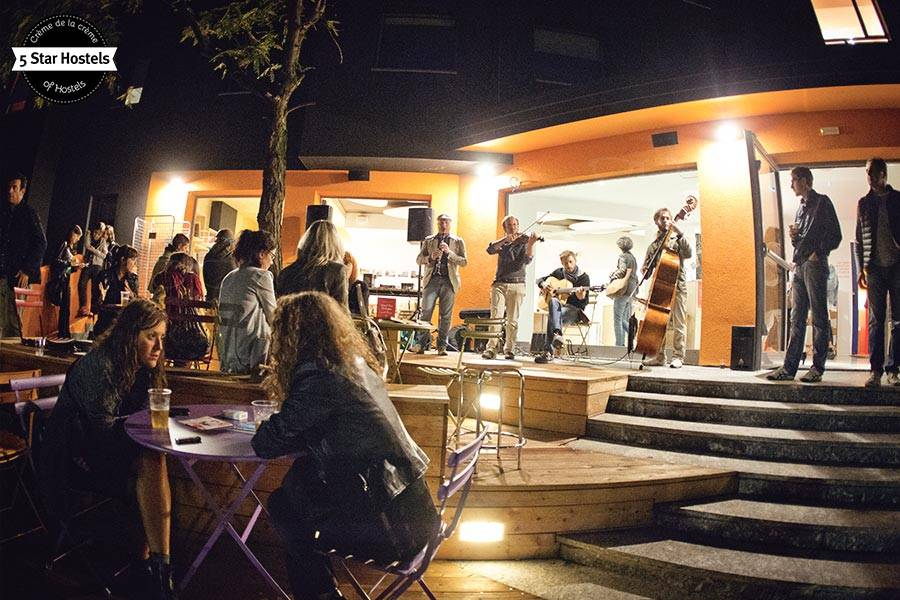 A concert at We_Bologna Hostel