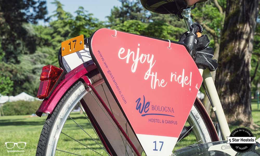 Enjoy the ride with WE Bologna Hostel