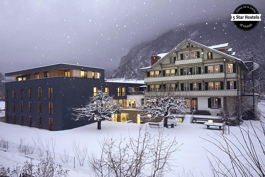 Winter Dreamland: Backpackers Villa Sonnenhof