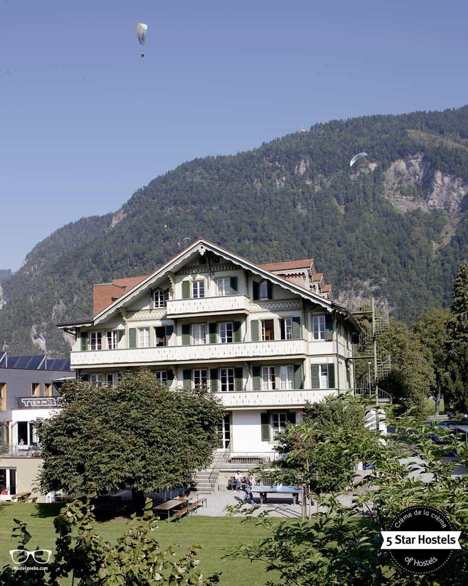 Adrenalin-Kick mit Backpackers Villa Sonnenhof, 5 Sterne Hostel